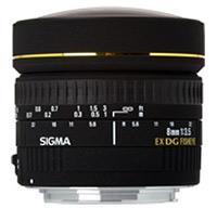 Фото - Объектив Sigma AF 8mm F3.5 EX DG Circular Fisheye