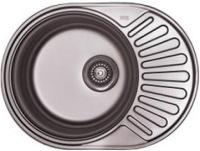 Кухонная мойка Cristal Roma Plus UA7112ZS 570x450мм