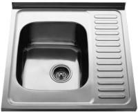 Кухонная мойка Cristal Data Plus UA7402ZS 600x600мм