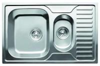 Фото - Кухонная мойка Cristal Calipso UA7301ZS