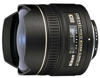 Объектив Nikon 10.5mm f/2.8G ED AF DX Fisheye-Nikkor