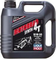 Моторное масло Liqui Moly Motorrad Synth 4T 10W-50 4л