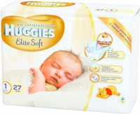 Подгузники Huggies Elite Soft 1 / 27 pcs