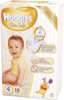 Подгузники Huggies Elite Soft 4 / 19 pcs
