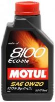 Моторное масло Motul 8100 Eco-Lite 0W-20 1L