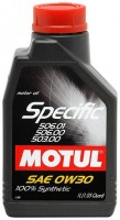 Моторное масло Motul Specific 506.01-503.00-506.00 0W-30 1л