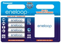 Аккумуляторная батарейка Panasonic Eneloop  4xAA 1900 mAh + case