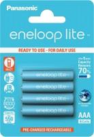 Аккумуляторная батарейка Panasonic Eneloop Lite  4xAAA 550 mAh