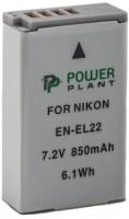 Фото - Аккумулятор для камеры Power Plant Nikon EN-EL22