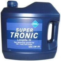 Моторное масло Aral Super Tronic LongLife III 5W-30 5л