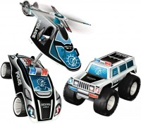 Конструктор Geomag Police Squad 708