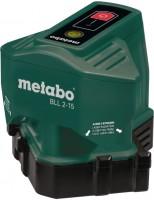 Нивелир / уровень / дальномер Metabo BLL 2-15 15м, кейс