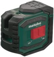 Нивелир / уровень / дальномер Metabo KLL 2-20 20м, кейс, держатель