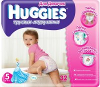 Подгузники Huggies Pants Girl 5 / 32 pcs