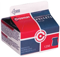 Кулі й патрони Crosman Competition 4.5 mm 0.48 g 1250 pcs