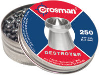 Кулі й патрони Crosman Destroyer 4.5 mm 0.51 g 250 pcs
