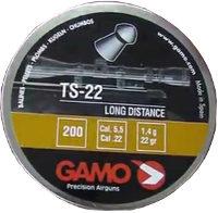 Кулі й патрони Gamo Master TS-22 5.5 mm 1.4 g 200 pcs