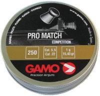 Пули и патроны Gamo Pro Match 5.5 mm 1.0 g 250 pcs