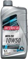 Моторное масло Ardeca Moto-Tec 10W-50 1L 1л