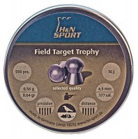 Фото - Пули и патроны Haendler & Natermann Diabolo Fienld&Target Trophy 4.5 mm 0.56 g 500 pcs
