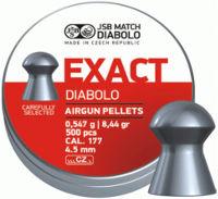 Пули и патроны JSB Diablo Exact 4.53 mm 0.55 g 500 pcs