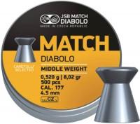 Фото - Пули и патроны JSB Match Diablo 4.5 mm 0.52 g 500 pcs