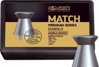 Кулі й патрони JSB Match Premium Middle 4.5 mm 0.52 g 200 pcs