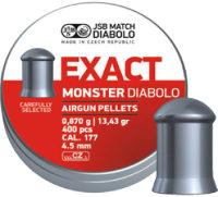 Пули и патроны JSB Match Premium Middle 4.52 mm 0.87 g 400 pcs