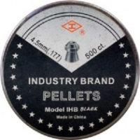 Пули и патроны Shanghai IHB Black 4.5 mm 0.48 g 500 pcs