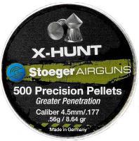 Пули и патроны Stoeger X-Hunter Point 4.5 mm 0.56 g 500 pcs