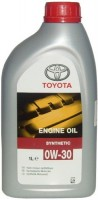 Моторное масло Toyota Engine Oil Synthetic 0W-30 1л