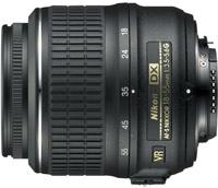 Объектив Nikon 18-55mm f/3.5-5.6G ED VR AF-S DX Nikkor