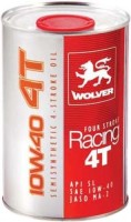 Моторное масло Wolver Four Stroke Racing 4T 10W-40 1L