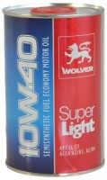 Моторное масло Wolver Super Light 10W-40 1 л
