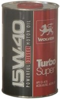 Моторное масло Wolver Turbo Super 15W-40 1L