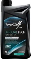 Моторное масло WOLF Officialtech 5W-30 C2 1л