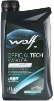 Моторное масло WOLF Officialtech 5W-30 C4 1L