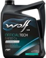 Моторное масло WOLF Officialtech 5W-30 C4 4L