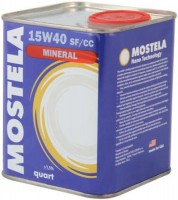 Моторное масло Mostela Mineral 15W-40 1л