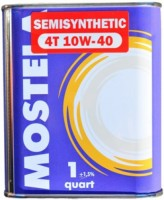 Моторное масло Mostela 4T 10W-40 1L 1л