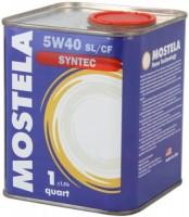 Моторное масло Mostela Syntec 5W-40 1л