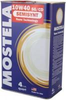 Моторное масло Mostela Semisynt 10W-40 4л