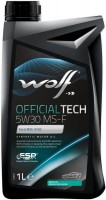 Моторное масло WOLF Officialtech 5W-30 MS-F 1 л