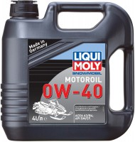 Моторное масло Liqui Moly Snowmobil Motoroil 0W-40 4л