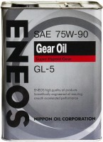 Фото - Трансмиссионное масло Eneos Gear Oil 75W-90 GL-5 4л