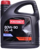 Фото - Трансмиссионное масло Favorit GL-4 80W-90 4л