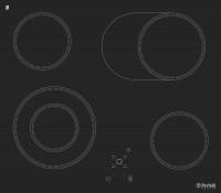 Фото - Варочная поверхность Perfelli HVC 6310 черный