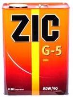 Фото - Трансмиссионное масло ZIC G-5 80W-90 4л
