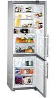 Холодильник Liebherr CBNes 3967 нержавеющая сталь