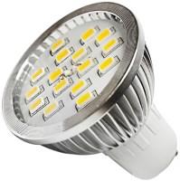 Лампочка Brille LED GU10 6.4W 16 pcs WW MR16 CCD (L3-005)